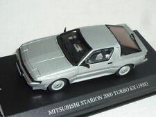 Mitsubishi Starion 2000 Turbo Ex 1988 Coupe Silber 1/43 Dism Modellauto Modell A