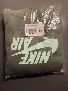 Travis Scott x Jordan Hoodie Nike Olive Green Highest In The Room Cactus Jack M
