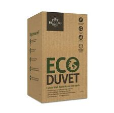 La fine Bedding Company Eco Couette 10.5 Tog 100% recyclé Respirant Lavable