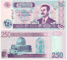 Iraq 250 Dinars P#88(1) (2002) Central Bank of Iraq UNC