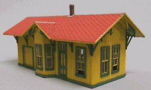 Blair Line 193 HO Boston Depot Laser-Cut Building Kit