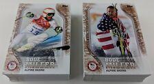 2018 Topps U.S Olympic Team BRONZE 93 Card Complete Set #US1-US48 & #USA1-USA45