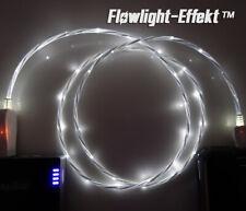 LifeShift Ladekabel für Android USB Micro B LED weiss fliessend leuchtend 1m HiQ