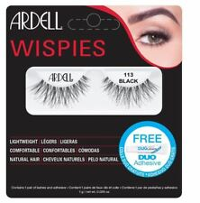 Ardell Fashion Lashes Wispies 113 Black with Free Adhesive DUO Glue Worth £7.50