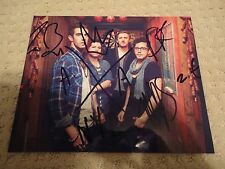 AMERICAN AUTHORS SIGNED BEST DAY OF MY LIFE PHOTO BELIEVER 4X ZAC BARNETT COA!