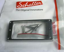 Schaller Humbucker-Rahmen pickup ring one hole 11,5 mm (Straight) Ruthenium