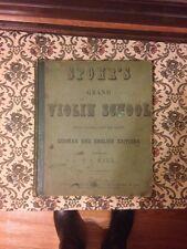 Spohr Grand Violin School U. C. Hill 1852