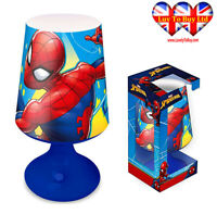 Spiderman Table/Desk Lamp,Bedroom,Bedside Lamp Night Light,Official Licenced