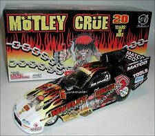 COOL 1/24 SCALE MOTLEY CRUE JIM EPLER CAMARO NHRA FUNNY CAR RACING DIECAST