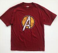 Avengers Marvel Universal Studios Islands of Adventure Distressed Shirt Medium