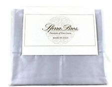 Lilac SMOKE STANDARD Pillowcases 100% LONG STAPLE Cotton Sateen 300TC Sferra