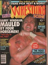TV Wrestlers May 1987 Barry Windham, Ric Flair, SuperFly VG 011416DBE