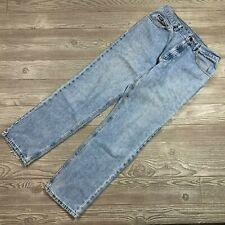 VTG Lee Denim Light Wash Straight Leg Jeans Men's 33x31 X34