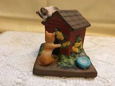 Collectible Danbury Mint Porcelain Figurine Cute Cats! House Guests