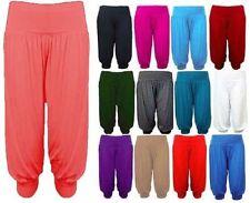 Viscose Harem Mid Rise Women's Trousers Not Relevant