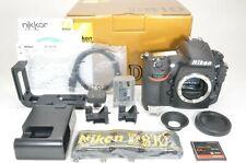 Nikon D810 36.3MP Digital SLR Camera with L Plate and 64GB CF Card Near MINT