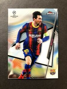 Lionel Messi Topps Finest UEFA Champions League 2020/21