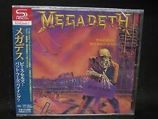 MEGADETH Peace Sells... But Who's Buying ? + 4 JAPAN SHM CD Metallica Angra
