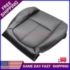 For 2011-2016 Ford F250 F350 Lariat Driver Bottom Perforated Leather Seat Cover