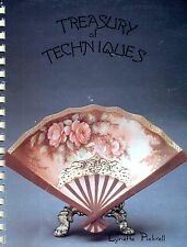 Treasury of Techniques by Lynette Pickrell China Painting  W3