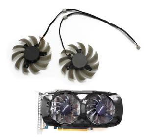 Fan For Gigabyte Geforce GTX460 GTX470 GTX570 GTX580 GTX670 Replace Cooler Fans
