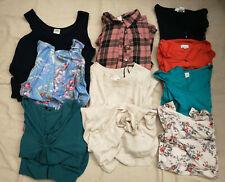 Umstandskleidung 9 Oberteile und Kleider bunte Mischung Größe M / L / XL