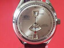 Herren Uhr / Armbanduhr Oberon digitale Scheibenuhr Handaufzug 70´er Jahre!!!