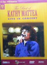 The BEST of KATHY MATTEA Live in Concert Five Videos Plus Opening SEALED DVD