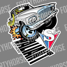 Muscle Car Vinyl Stickers - Valiant S Series