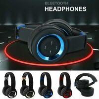 On Ear Kopfhörer Bluetooth Kabellos Faltbare Bass Headphones Stereo Mic Kopfhrer