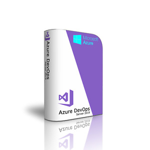 Microsoft Azure DevOps Server 2019 with up to 450 Users. US-English Language.