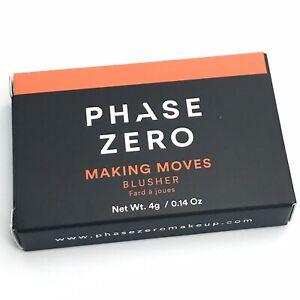 New in Box Phase Zero Making Moves Blusher Blush 4g/0.14oz FabFitFun