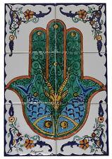 Fliesenbild Keramikfliesen Orient Handbemalt Wandfliesen Mediterran Mosaik 06 01