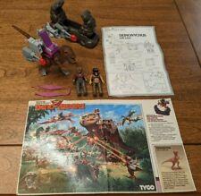 Dino Riders Series 1: Deinonychus w/ Demon and Sting (missing brain box)