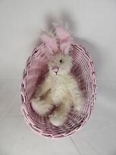 "World Of Miniature Bears Dollhouse Miniature 5"" Easter Bunny Rabbit #5070EP"