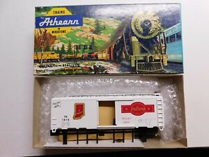 HO Scale - Athearn - Indiana State 40' Box Car Train Kit IN #1816