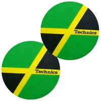 Slipmats Technics Jamaica (1 Paar / 1 Pair) 60646 NEU!