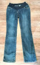 Moda MOTHERCARE  Size 8 R Pregnancy Maternity Boot Cut Blue Jeans Trousers