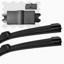 """For VW Bora (1J2, 1J6) 02-05 Front Windscreen 21"""" 19"""" Flat Aero Wiper Blades Set"""
