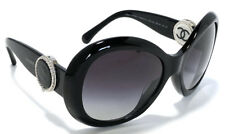 Authentic CHANEL sunglasses Cocomark Black 5193