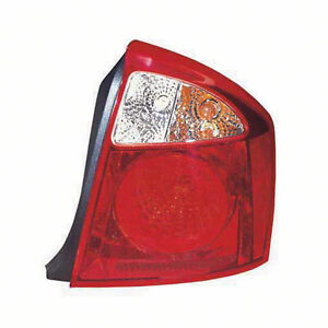 Aftermarket Replacement Passenger Side Tail Light Assembly 166-59888