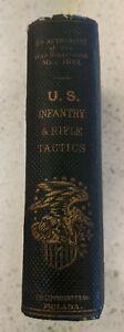 U.S. Civil War 1861 Infantry & Rifle Tactics Manual Book