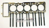 HEAD GASKET AND BOLTS TRANSPORTER T5 TOUAREG CARAVELLE 2.5 TDi 2003 ONWARDS