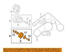 Infiniti NISSAN OEM 11-13 M56 5.6L-V8-Idler Pulley 119251CA0A