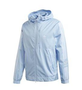 NWT Rare Adidas Originals Lock Up Wind Breaker Jacket Carolina Blue Size XL