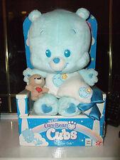 Care Bear de los Cachorros Azul Bedtime Cub Suave Juguete con Manta & Teddy Nueva En Caja 2004
