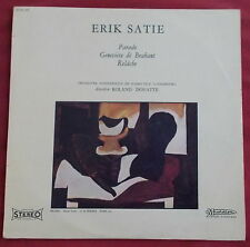ERIK SATIE LP ORIG FR PARADE DIRECTION ROLAND DOUATTE