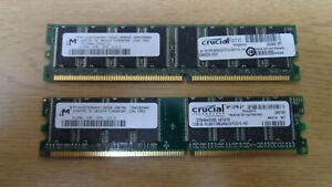 1GB (2 x 512M) DDR PC2700 333 DIMM