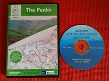 The peaks-PC ordinance survey map scale prints-Very good condition