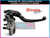 BREMBO RADIAL BRAKE MASTER CYLINDER 19RCS CORSACORTA TRIUMPH STREET TRIPLE S 17-